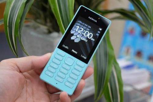 Một mẫu điện thoại cơ bản giá hơn 800.000 đồng vừa được Nokia giới thiệu gần đây ở Việt Nam.