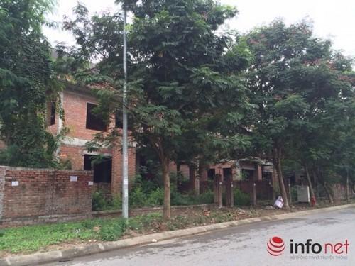 Hà Nội: Biệt thự bỏ hoang mất giá, bán tháo dưới 40 triệu đồng/m2