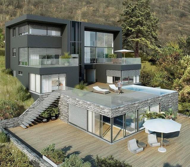 Toàn cảnh ngôi nhà đắt nhất thế giới trị giá 12,2 tỉ USD.