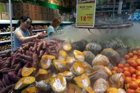 Chen lan mua sam Tet duong lich tai Sai Gon - Anh 15