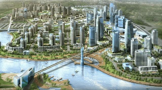 Phối cảnh quy hoạch Nhà Bè Metrocity.