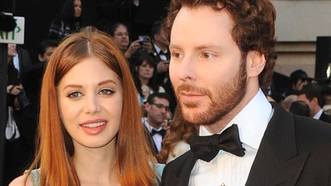 Image result for Sean Parker and Alexandra Lenas