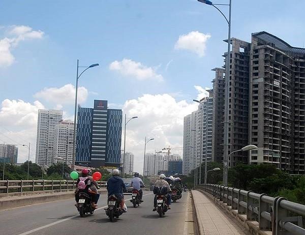 chung cư TP.HCM, mua nhà chung cư, ùn tắc giao thông, khu đô thị vệ tinh