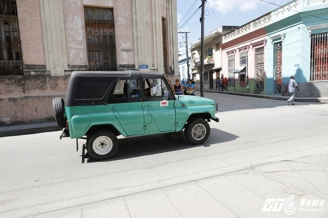 Hinh anh O to o Cuba, nhung co may thoi gian 7