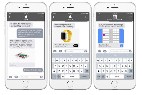 Apple ra mat Business Chat canh tranh voi Facebook Messenger - Anh 2