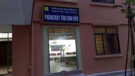 Truong Dai hoc Cong nghiep Ha Noi: 'Xe thit' dat cong de kinh doanh? - Anh 6