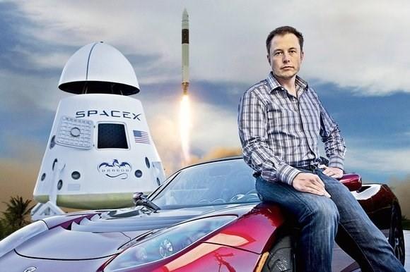 Chân dung vị tỷ phú thiên tài Elon Musk.