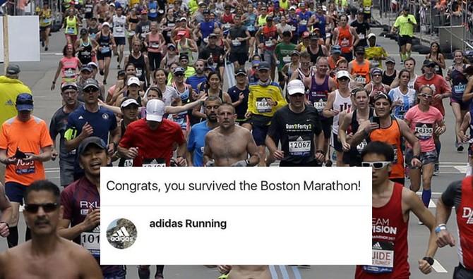 CEO, xử lý khủng hoảng truyền thông, Adidas, Boston Marathon
