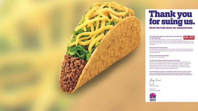 CEO, xử lý khủng hoảng truyền thông, Taco Bell