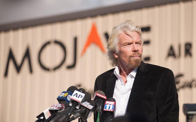 CEO, xử lý khủng hoảng truyền thông, Virgin Galactic, Richard Branson