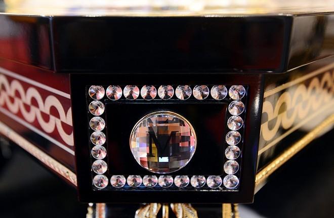 trang trí thủy tinh Murano của Ý hoặc hạt pha lê Swarovski của Áo với các kiểu dáng cổ điển quý phái và sang trọng, phù hợp với nhiều phong cách trang trí nội thất của nhiều châu lục ở các thời kỳ khác nhau.
