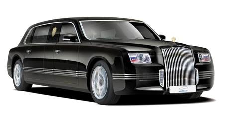 Kiểu limousine đặc biệt dành cho vị nguyên thủ Nga