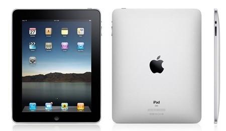 iPad 1 không có camera vì vậy không thể chụp ảnh,