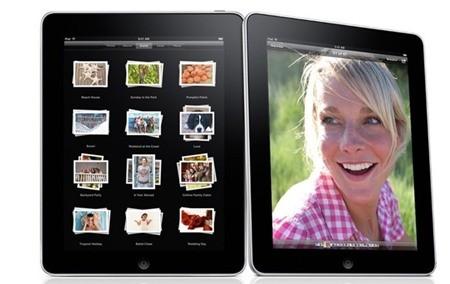 Viền bezel khiến thiết bị trông cục mịch hơn những model iPad sau đó.
