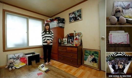 Eom Ji-yeong, the mother of Park Ye-ji
