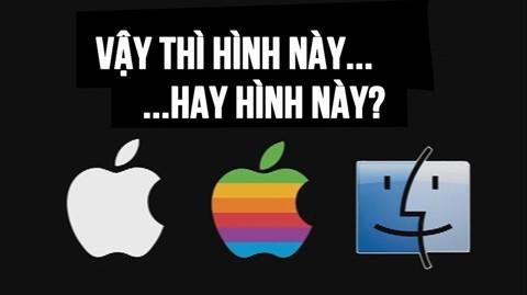 Logo đầu tiên của Apple là hình nào?