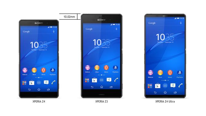 4 lí do khiến Sony Xperia Z4 tốt hơn