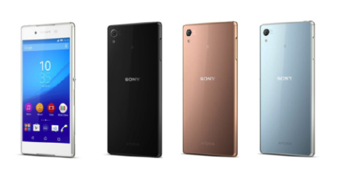 Xperia Z4: Vẫn mang phong cách thiết kế OmniBalance của Sony. Chỉ là bản nâng cấp nhỏ từ người tiền nhiệm Xperia Z3. Nhưng Z4 được Sony trau chuốt từ những chi tiết nhỏ nhất như cổng microUSB, khe cắm thẻ nhớ micro SD và micro SIM. Thiết bị được thiết kế nguyên khối siêu mỏng cùng hai mặt kính. Tuy nhiên Sony chỉ phát hành Xperia Z4 tại thị trường Nhật Bản.
