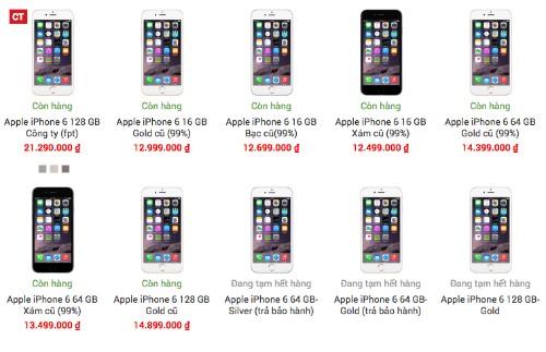 Không chỉ có hàng mới hay hàng phân phối chính hãng, iPhone hiện giờ có nhiều loại hàng với giá bán, hình thức cũng như chất lượng khác nhau.