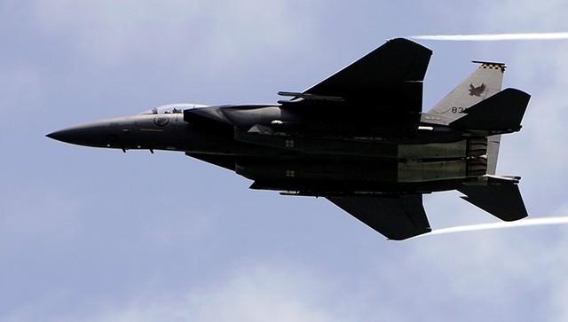 Máy bay tiêm kích F-15SG của Singapore