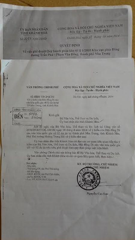 Xay cao oc o bien Nha Trang: Thu tuong duyet mot dang, Khanh Hoa quyet mot neo