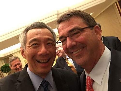 Bộ trưởng, quốc phòng, Mỹ, Singapore, Facebook