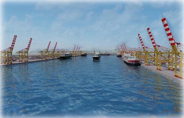 Cảng nước biển sâu Laem Chabang. Ảnh: Gmaritime.