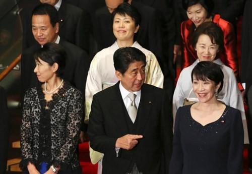 Nội các Nhật đang có nhiều phụ nữ nắm quyền nhất trong lịch sử