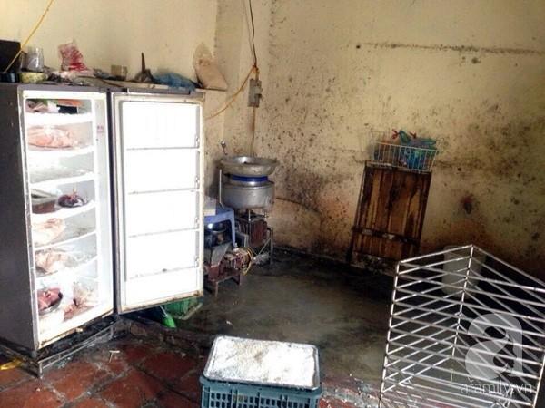 Hà Nội: Hãi hùng cơ sở sản xuất nem chua bằng thịt lợn hôi thối - Ảnh 2