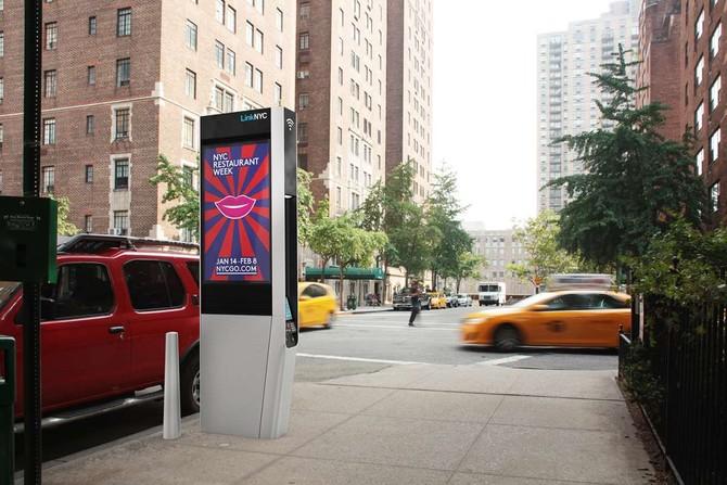 Wifi, Mỹ, thùng rác, điểm phát Wi-Fi, thông minh, công nghệ