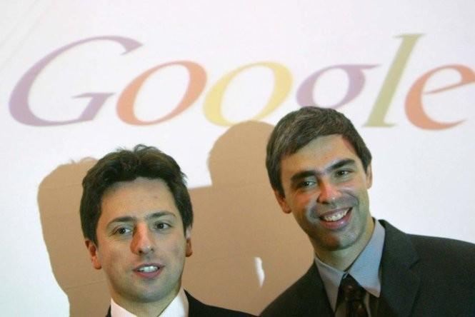 Bộ đôi sáng lập Google Larry Page và Sergey Brin - Ảnh: Getty Images