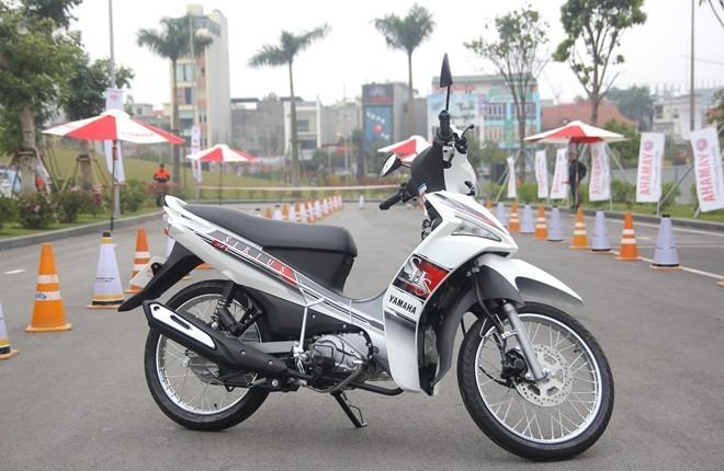 10 xe máy bán chạy nhất Việt Nam nửa đầu 2015