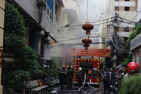 hỏa hoạn, Sài Gòn