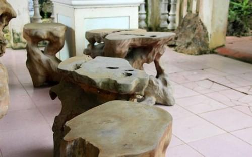 Những bộ bàn ghế độc, lạ ở Việt Nam - ảnh 8