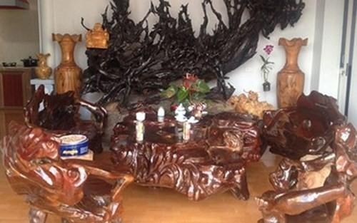 Những bộ bàn ghế độc, lạ ở Việt Nam - ảnh 3