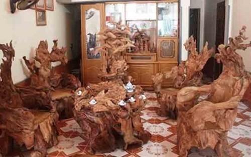 Những bộ bàn ghế độc, lạ ở Việt Nam - ảnh 6