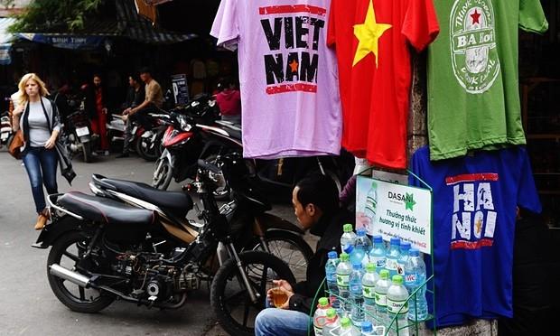 Tín hiệu cho thấy lượng du khách đến Việt Nam đang ngày càng yếu. Ảnh: Hoang Dinh Nam/Getty