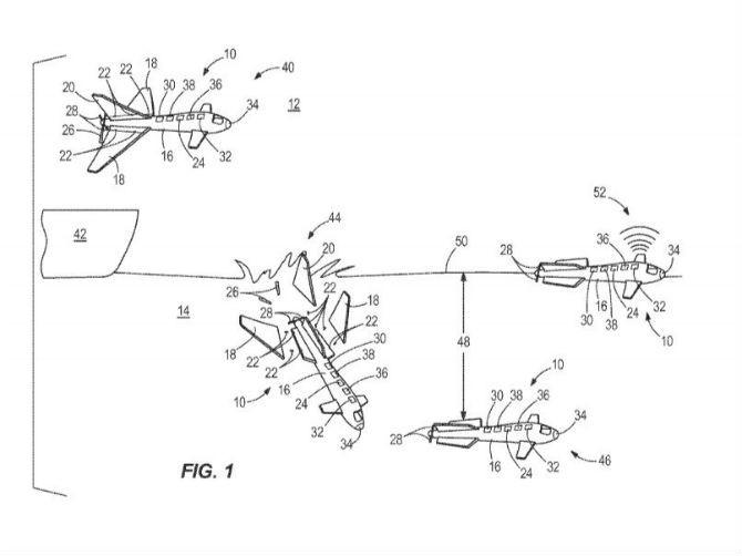 Boeing phát triển máy bay không người lái có thể chuyển đổi thành tàu ngầm