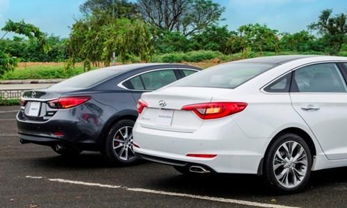 Hyundai Sonata 'song đấu' Mazda6: 8 lạng so kè nửa cân - ảnh 2