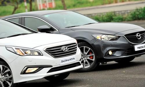 Hyundai Sonata 'song đấu' Mazda6: 8 lạng so kè nửa cân - ảnh 3