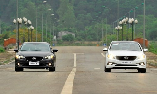 Hyundai Sonata 'song đấu' Mazda6: 8 lạng so kè nửa cân - ảnh 7