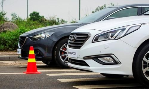 Hyundai Sonata 'song đấu' Mazda6: 8 lạng so kè nửa cân - ảnh 8