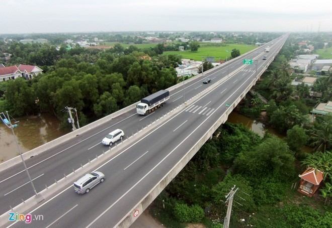 Cao tốc TP HCM Trung Lương