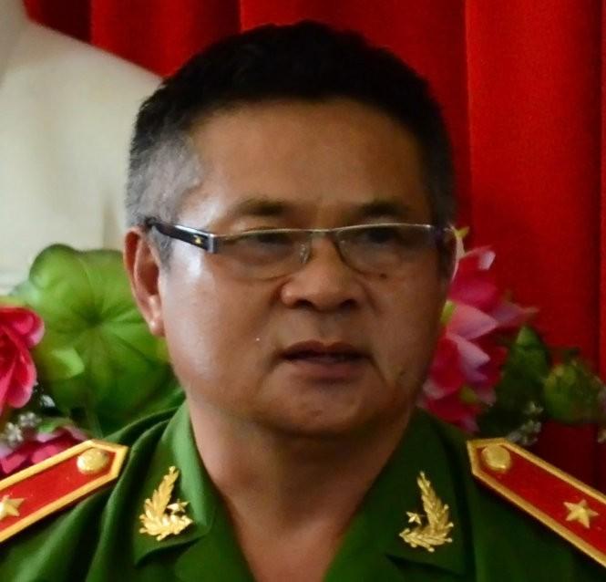 Thiếu tướng Hồ Sỹ Tiến - Ảnh: Thanh Tùng