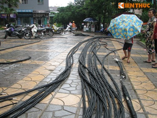 Am anh kinh hoang trong vu chay chung cu Tan Trieu, Ha Noi-Hinh-5