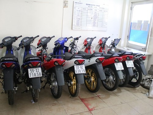 Phá cơ sở 'sản xuất' Suzuki Sport giả