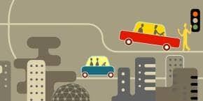 Nếu 90% ô tô lưu thông ở Mỹ là xe tự lái, số tai nạn sẽ giảm từ 5,5 triệu ca một năm xuống còn 1,3 triệu.