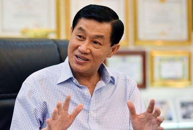 Theo ông Jonathan Hạnh Nguyễn, TPP là điều ông mong chờ từ 10 năm nay, khi mới bắt tay kinh doanh hàng hiệu. Ảnh: Hoàng Hà.
