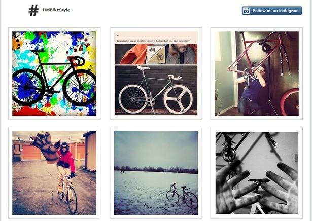 Tài khoản Instagram của H&M