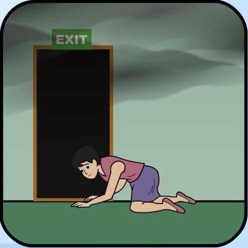 Làm gì, chung cư, cháy, thoát hiểm